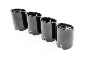 BMW F8X M3 / M4 COMPETITION PACKAGE BLACK CHROME EXHAUST TIPS