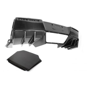 Chevrolet Corvette C7 Z06 Rear Diffuser 2014-Up With Under-Tray Version 2