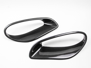 Agency Power Carbon Fiber Side Air Ducts Porsche 991 Turbo