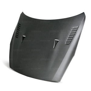 ES-STYLE DRY CARBON HOOD FOR 2009-2016 NISSAN GT-R*