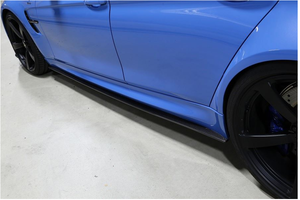 3D DESIGN F80 M3 CARBON FIBER SIDE SKIRT SET