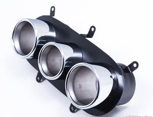Agency Power Stainless Race Exhaust Tips Ferrari 458 Italia | Speciale