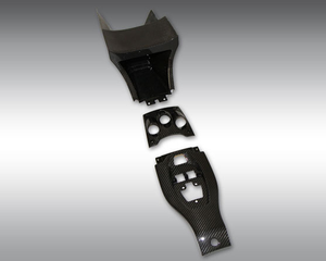Novitec Carbon Center Console Enlargement Ferrari Italia 10-15