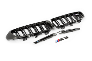 IND F8X M3 / M4 BLACK CHROME COSMETIC PACKAGE