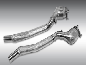 Novitec 100-Cell Sport Replacement Metal Catalyst Pair Ferrari GTC4 Lusso V8 17-18