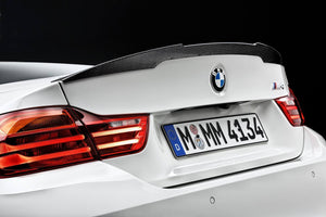 2015-2018 BMW M Performance Carbon Fiber Rear Deck Spoiler for F82 M4