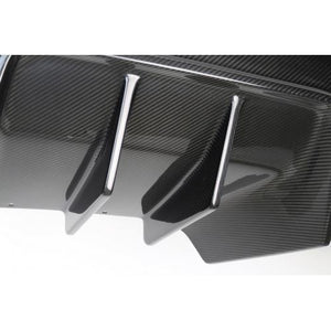 Chevrolet Corvette C7 Z06 Rear Diffuser 2014-Up Without Under-Tray Version 2