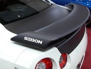 OEM-STYLE DRY CARBON REAR SPOILER FOR 2009-2018 NISSAN GT-R*