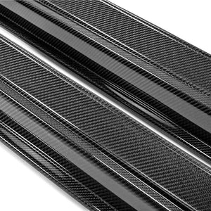 SS-STYLE CARBON FIBER SIDE SKIRTS FOR 2009-2016 NISSAN GT-R