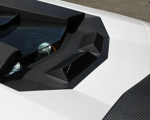 Novitec Torado Lamborghini Aventador Carbon Fiber Air Vents for Engine Cover 12-19
