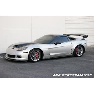 Chevrolet Corvette C6 Z06 Side Rocker Extensions 2006-Up (Fits Z06 and Grand Sport)