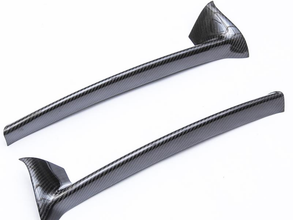 Agency Power Carbon Fiber Rear Lip Porsche Cayman 06-09