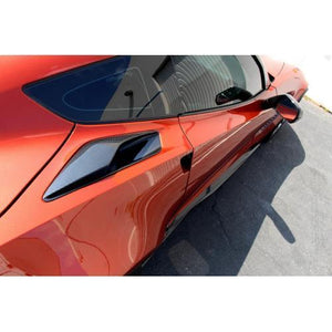 Chevrolet Corvette C7 Z06 Quarter Panel Intake Vents 2015-Up
