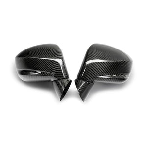 CARBON FIBER MIRROR COVERS FOR 2009-2018 NISSAN GT-R
