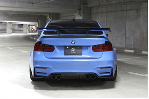 3D DESIGN F80 M3 DRY CARBON FIBER RACING WING