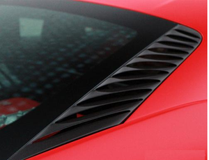 Novitec Carbon Engine Vent Louvers Ferrari 458 Spider 11-15