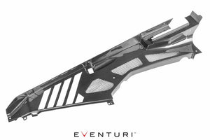 Eventuri Huracan Carbon Fiber Engine Cover with Cutouts Replacement