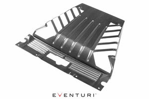 Eventuri Huracan Carbon Fiber Engine Cover with Cutouts