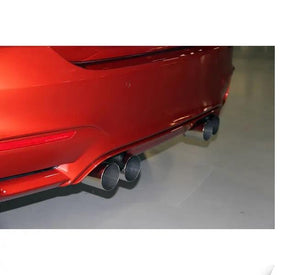 Stainless Axle-Back Exhaust - Polished Tips