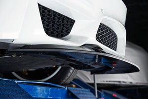 RKP BMW F80 M3 & F82/ F83 M4 Carbon Fiber GTS Front Lip with Adjustable Splitter