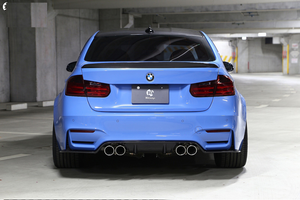 3D Design BMW F80 M3 Dry Carbon Fiber Rear Spoiler