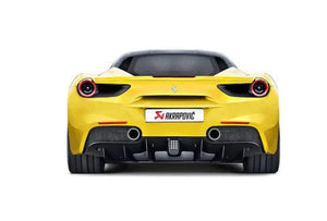Akrapovic 488 GTB / 488 Spyder Slip-On Performance Exhaust