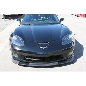 Chevrolet Corvette C6 Z06 Front Air Dam Version 2 w/ Bumper Reinforcement 2006-Up ( Z06 / Grand Sport only)