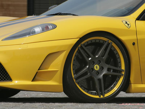 Novitec Aluminium Wheel Spacer 10mm Ferrari Scuderia F430 04-09