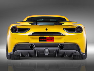 Novitec Carbon Fiber Fog-Light Cover for RearView Camera Ferrari 488 GTB | 488 Spider 15-17