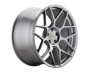 HRE FF01 Liquid Silver Flowform Wheel 19x8.5 5x100 30mm