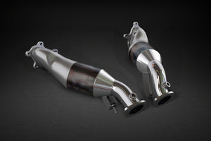 Nissan GTR MK3 - Downpipes with Sports Cats 100 Cell