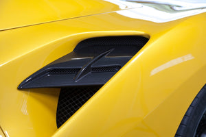 Ferrari 488 GTB/GTS Carbon Side Air Intake Panels