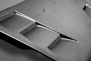 Ferrari 488 GTB Carbon Rear Air Guide