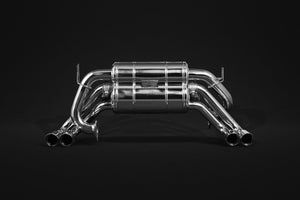 Ferrari 512 & Testarossa Valved Exhaust (NO Remote)