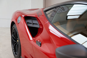 Ferrari 488 GTB/GTS Carbon Side Air Intake Panels (Matte)