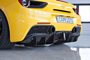 Ferrari 488 GTB & GTS End Pipe Shells