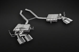 Mercedes ML63 AMG (W164)- Valved Exhaust System (Incl. Remote) with Stainless Tips