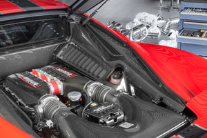 Ferrari 458 Italia/Speciale Carbon Side Engine Compartment Covers (Matte)