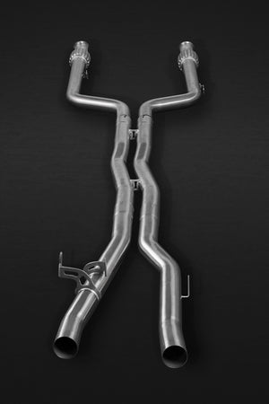 Mercedes E43AMG & E400 (A/C238) Valved Catback System, Mid Pipes, with CES-3