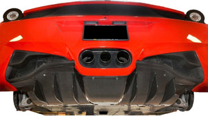 Ferrari 458 Carbon Fiber Rear Fog Light Trim