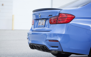 IND F8X M3 / M4 COATED EXHAUST TIPS