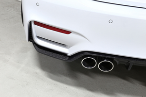 3D DESIGN F8X M3 / M4 CARBON FIBER REAR DIFFUSER - TYPE 2