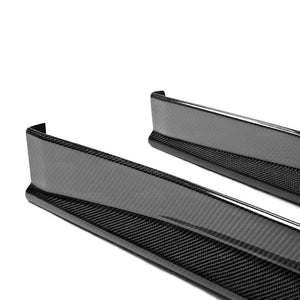 VS-STYLE CARBON FIBER SIDE SKIRTS FOR 2009-2016 NISSAN GT-R