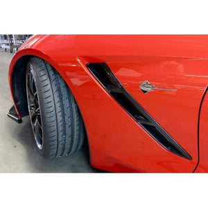 Chevrolet Corvette C7 Fender Vents 2014-Up