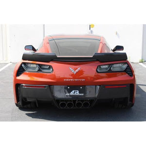 Chevrolet Corvette C7 Z06 Rear Deck Track Pack Spoiler without APR Wickerbill 2015-Up