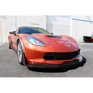 Chevrolet Corvette C7 Z06 Track Pack Front Air Dam / Splitter with Undertray 2015-Up