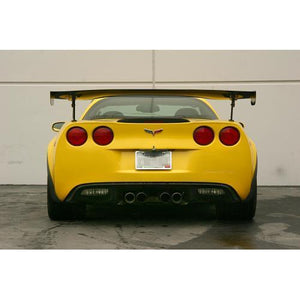 "APR Performance Chevrolet Corvette C6 / C6 Z06 GTC-500 74"" Adjustable Carbon Fiber Wing (2005-Up)"