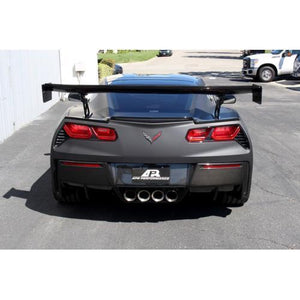"Chevrolet Corvette C7 GTC-500 74"" Adjustable Wing 2014-Up with Spoiler Delete"