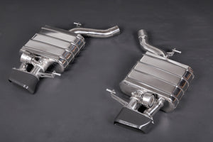 BMW 650i (V8TT) Valved Exhaust System incl. Remote (Catback) with Ceramic Coated Tips