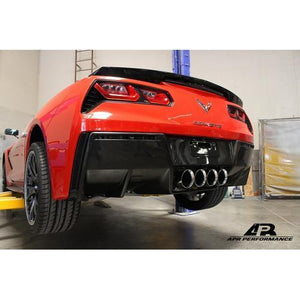 Chevrolet Corvette C7 Z06 Rear Diffuser 2014-Up (Without Under-Tray)